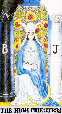 The High Priestess  – Major Arcana Tarot Card Meaning, according to Waite, Ouspensky, Crowley and Papus