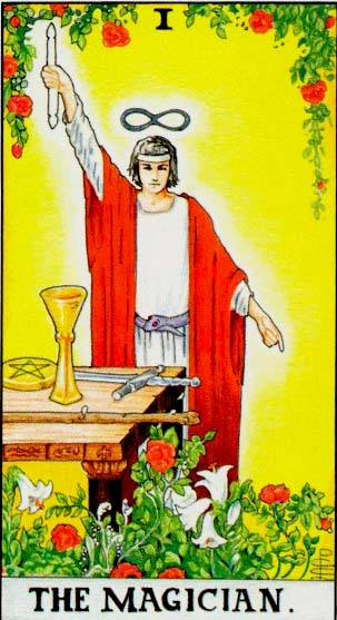 The Magician – Major Arcana Tarot Card Meaning, according to Waite, Ouspensky, Crowley and Papus
