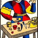 the magician tarot of marseilles
