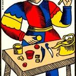 the magician tarot of marseilles