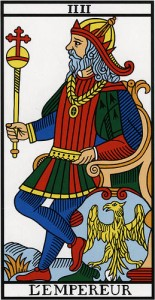 the emperor tarot of marseilles