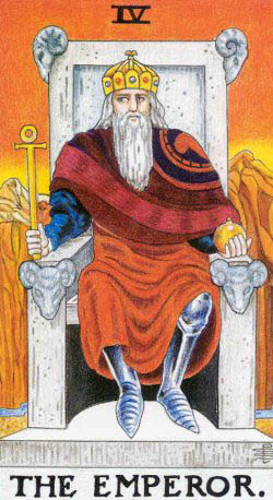 the emperor rider waite tarot