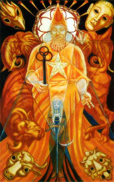 the hierophant thoth tarot