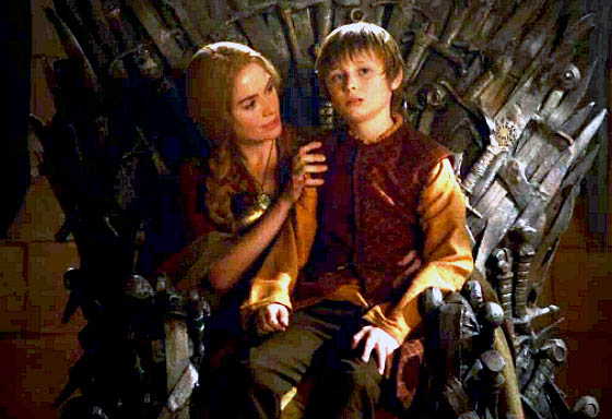 Cersei and Tommen Lannister