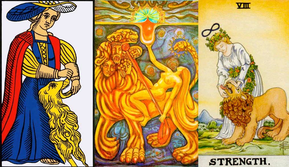 strength tarot card signification and meaning