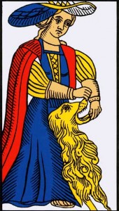 strength tarot of marseilles