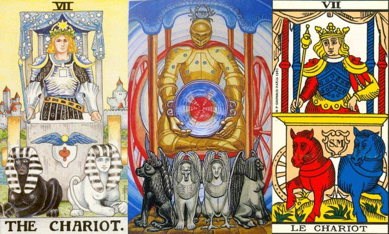 the chariot tarot signification and meaning