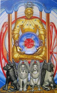 the chariot thoth tarot
