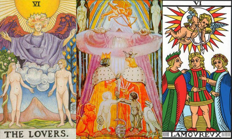 the lovers tarot meaning and signification