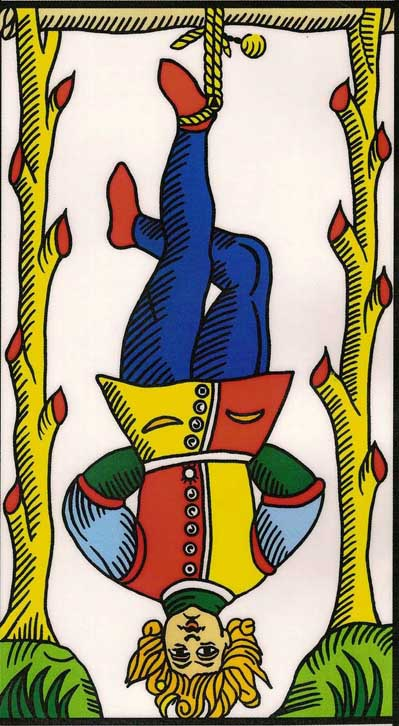 the hanged man tarot of marseilles