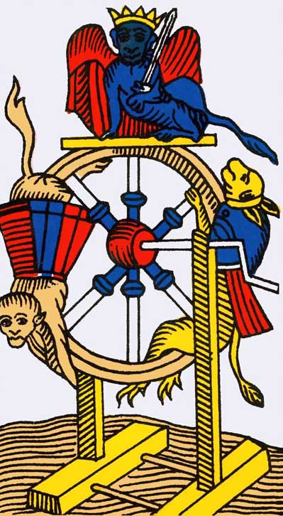 wheel of fortune tarot of marseilles