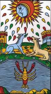 the moon tarot of marseilles