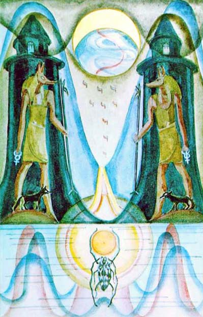 the moon tarot of thoth