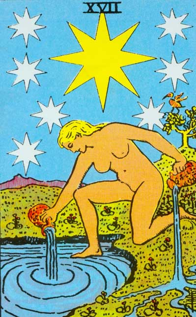 The Star – Major Arcana Tarot Card Meaning, according to Waite, Ouspensky, Crowley and Papus