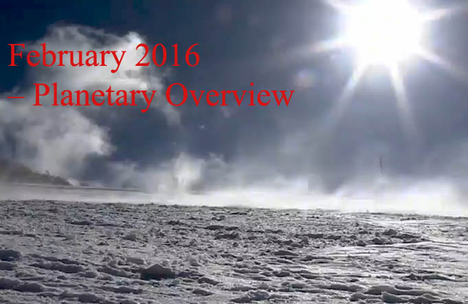 February 2016 – Planetary Overview: Major Astrological Aspects and Transits