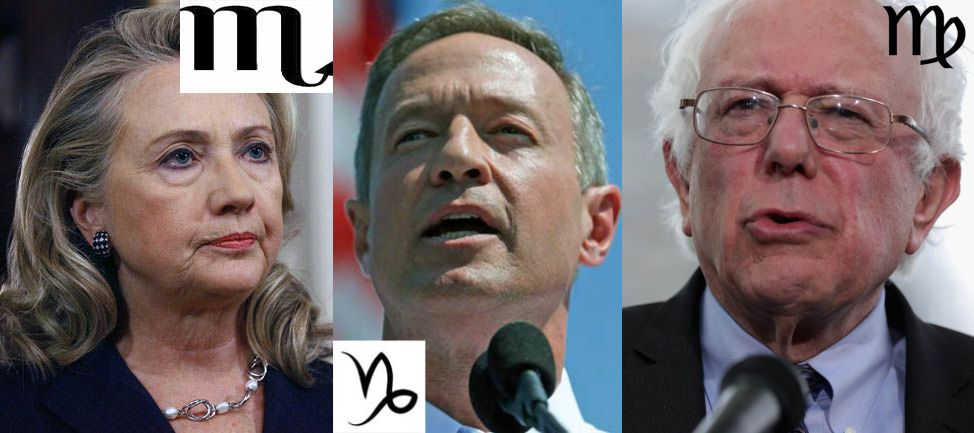 US Presidential Candidates 2016 – An Astrological Approach