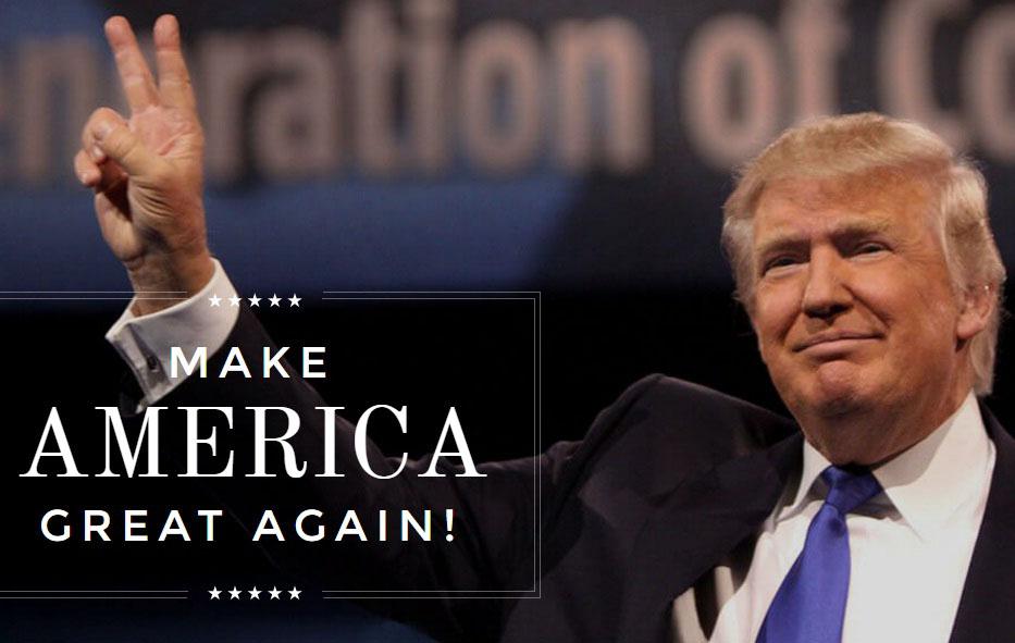 donald trump slogan 2016