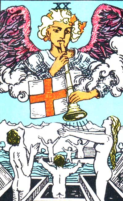 Judgement – Major Arcana Tarot Card Meaning, according to Waite, Ouspensky, Crowley and Papus