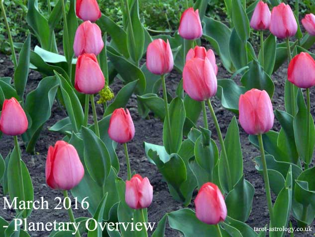 March 2016 – Planetary Overview: Major Astrological Aspects and Transits