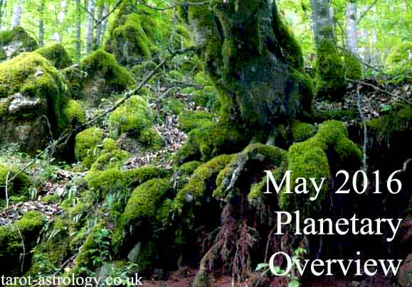 May 2016 – Planetary Overview: Major Astrological Aspects and Transits