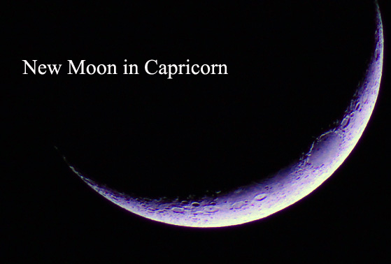 New Moon in Capricorn (January 10th, 2016)