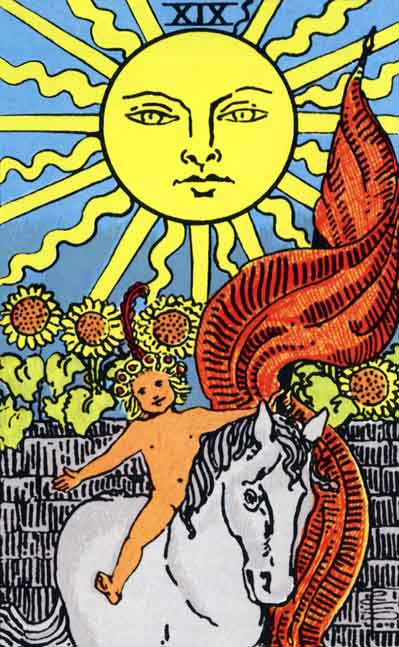 The Sun – Major Arcana Tarot Card Meaning, according to Waite, Ouspensky, Crowley and Papus