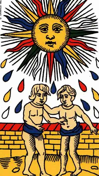 the sun tarot of marseilles