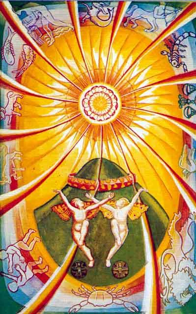 the sun tarot of thoth