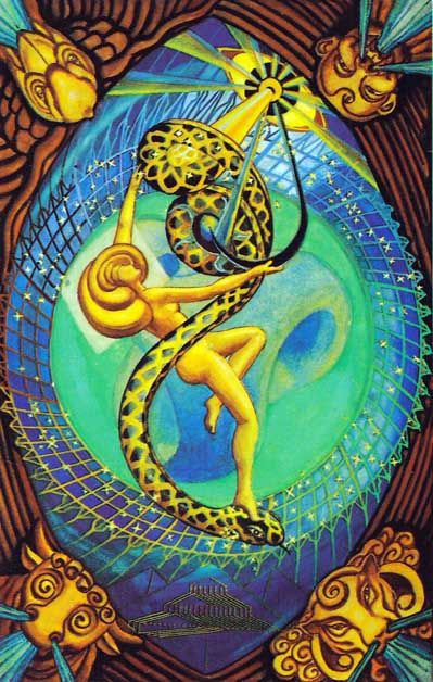 the universe (the world) tarot of thoth