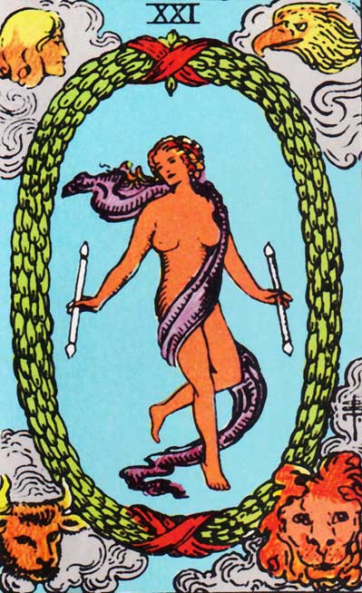 the world rider waite tarot