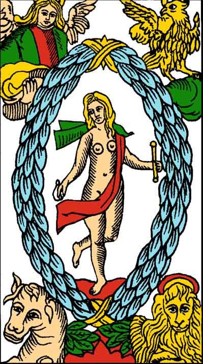 Major Arcana Tarot Card Meaning