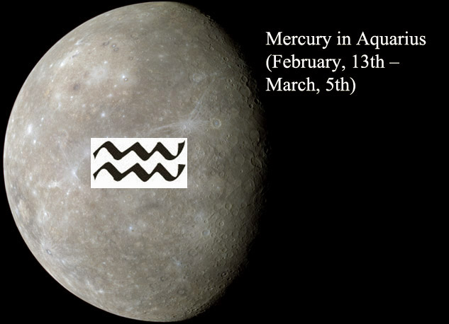 Mercury in Aquarius