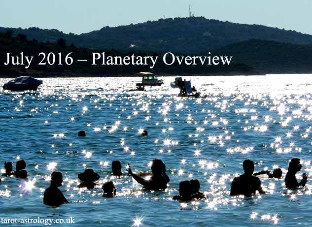 July 2016 – Planetary Overview: Major Astrological Aspects and Transits
