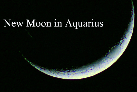 New Moon in Aquarius (February, 8th, 2016)