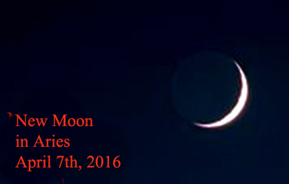 New Moon in Aries April 7th, 2016
