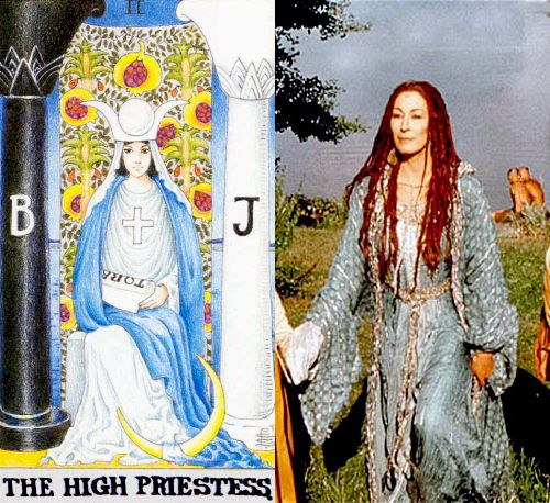 "Tarot: the High Priestess and her Avatars – Viviane from ""The Mists of Avalon"""