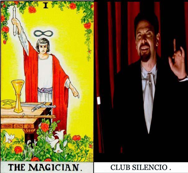 the magician david lynch club silencio