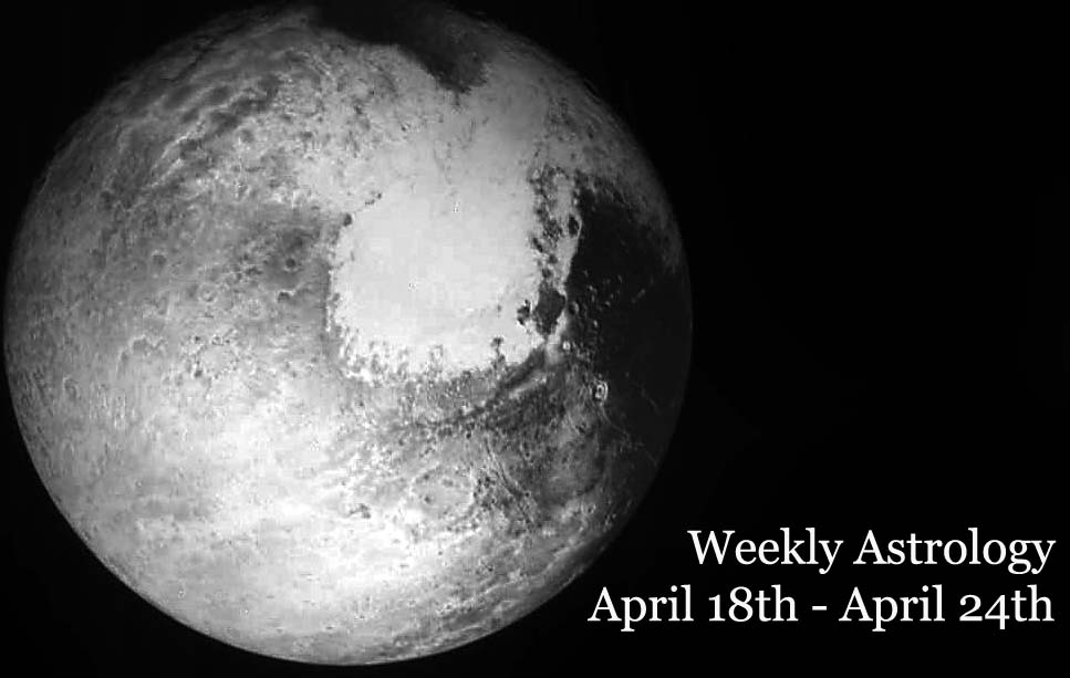 Weekly Horoscope: April, 18th – April 24th, 2016: Planetary Overview and Good Days for Zodiac Signs