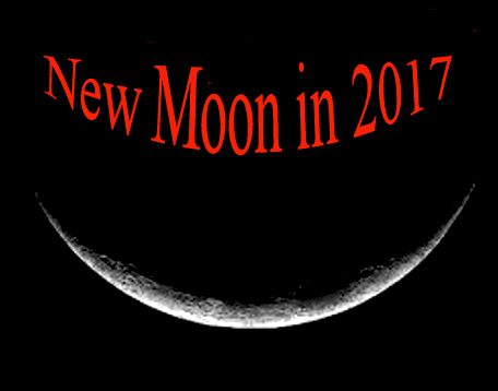 Moon Phases in 2017: New Moon Calendar