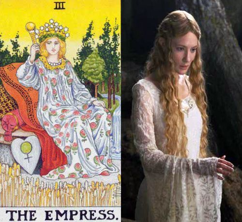 Tarot: the Empress and her Avatars – Galadriel from Lord of the Rings