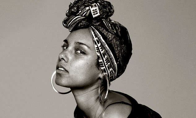Alicia Keys Aquarius woman