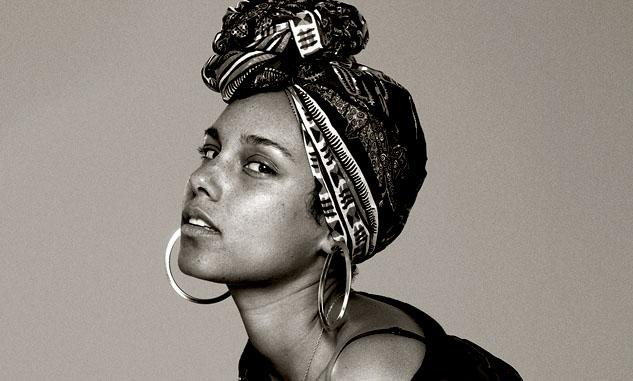 Alicia Keys Aquarius woman