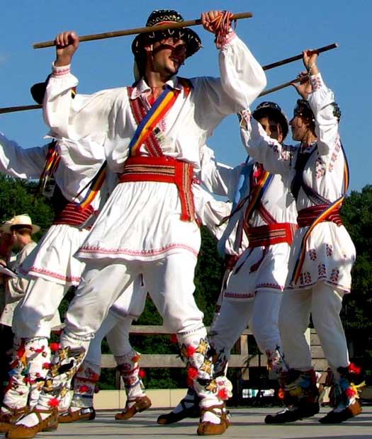 calusari romanian traditional dance