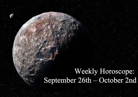 Weekly Horoscope: September 26th – October 2nd