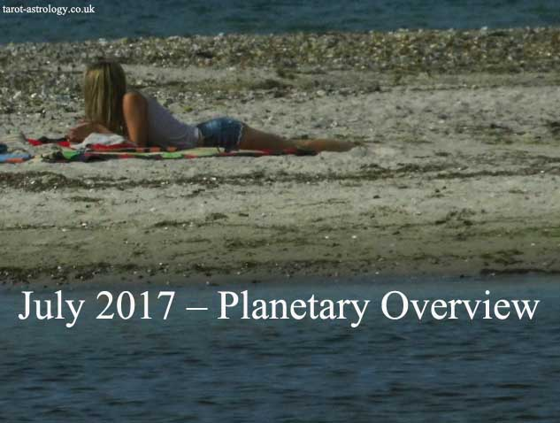 July 2017 – Planetary Overview: Major Astrological Aspects and Transits