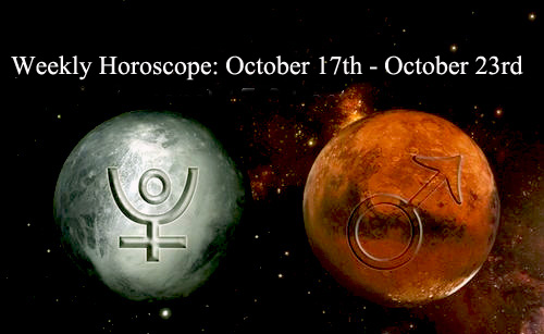 Weekly Horoscope: October 17th – October 23rd