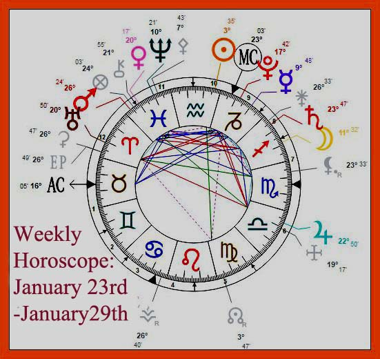 Weekly Horoscope: January 23rd-January29th