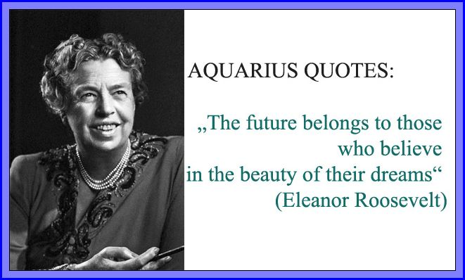 aquarius inspirational quotes