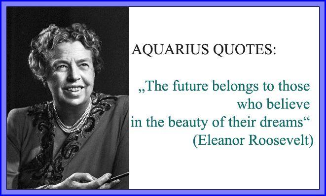 aquarius inspirational quotes