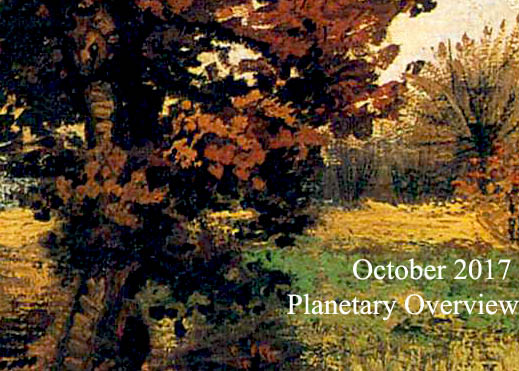 October 2017 – Planetary Overview: Major Astrological Aspects and Transits